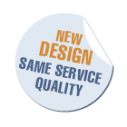New design, same service